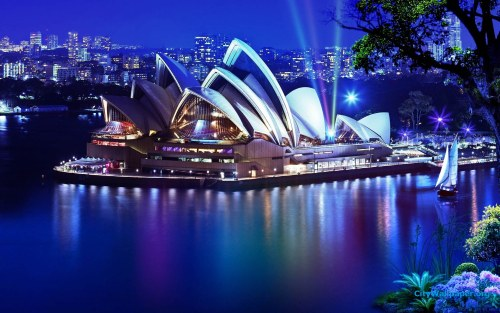 The Opera House in Sydney, Australia