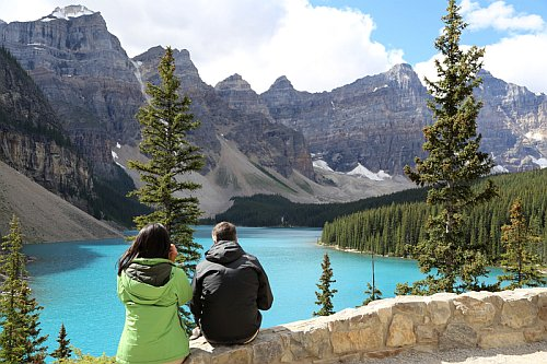 Banff National Park near Calgary, Alberta